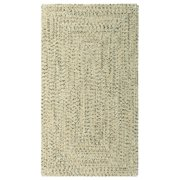 Sea Glass Sandy Beach Concentric Rectangle Outdoor Braided Rugs
