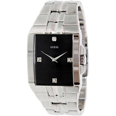 Guess Men's U10014G1 Black Stainless-Steel Quartz Watch