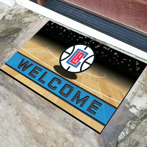 Los Angeles Clippers Crumb Rubber Door Mat