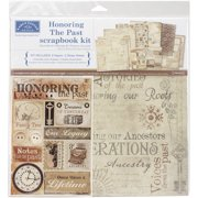 "Karen Foster Scrapbook Page Kit 12""X12""-Honoring The Past"