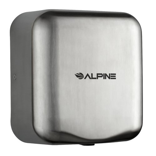 Alpine Industries Hemlock High 110 Volt Hand Dryer in Stainles Steel
