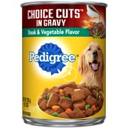 PEDIGREE Choice Cuts With Steak and Vegetables Wet Dog Food 13.2 Ounces