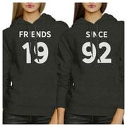 Friends Since Custom Matching Hoodies Custom Gifts For Best Friends