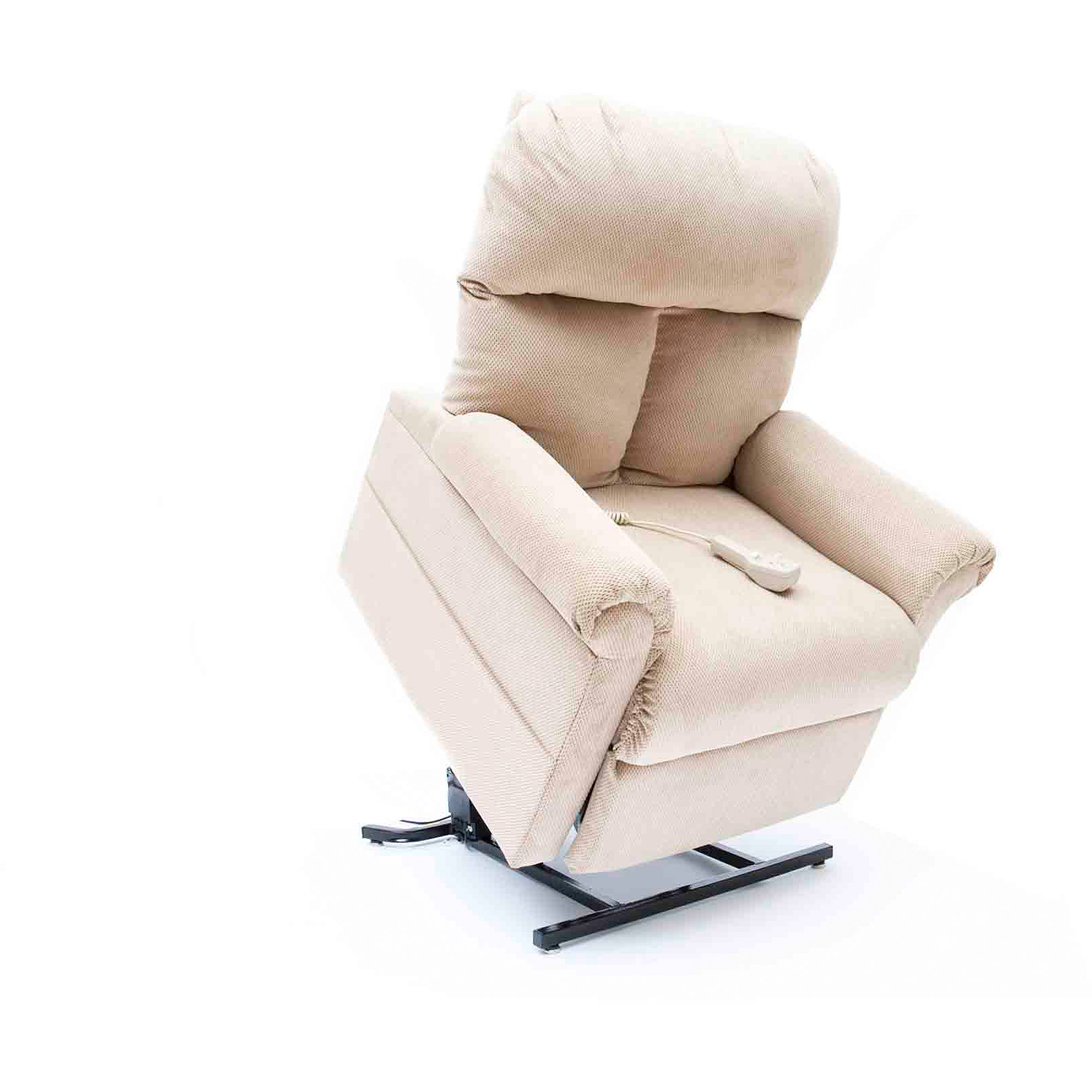 Mega Motion Heat And Massage Infinite Position Lift Chair LC100, Fawn