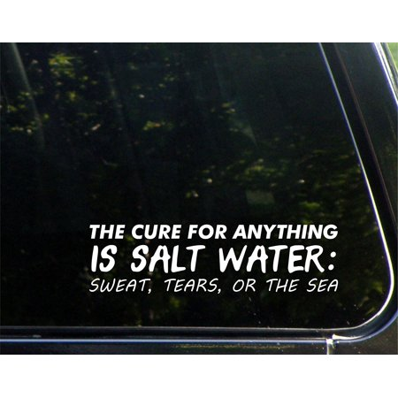 The Cure For Anything Is Salt Water: Sweat, Tears, Or The Sea - 8-3/4
