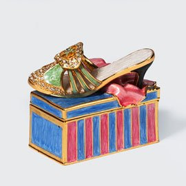 Department 56 Bejeweled Collection 56.31554 Shoe Jeweled Box