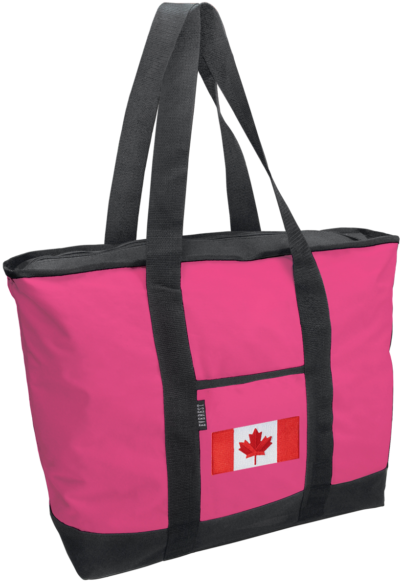 Cute Canada Flag Tote Bag Deluxe Canadian Flag Bags