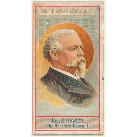Joseph R Hawley The Hartford Courant From The American Editors Series  N1  For Allen   Ginter Cigarettes Brands Poster Print  18 X 24