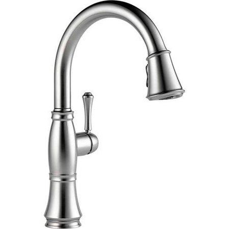 - Delta Cassidy Kitchen Faucet with Pull-Down Spray, Available in Various Colors