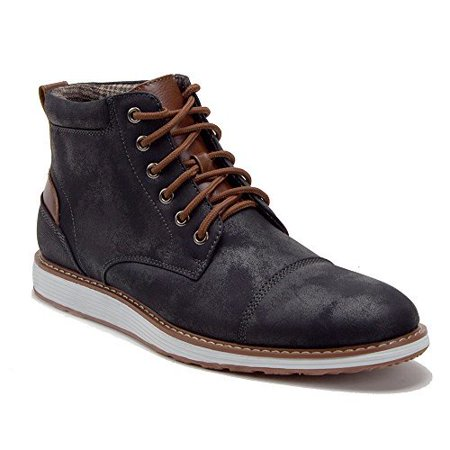 j'aime aldo  men's 617138 contrast lace up ankle high