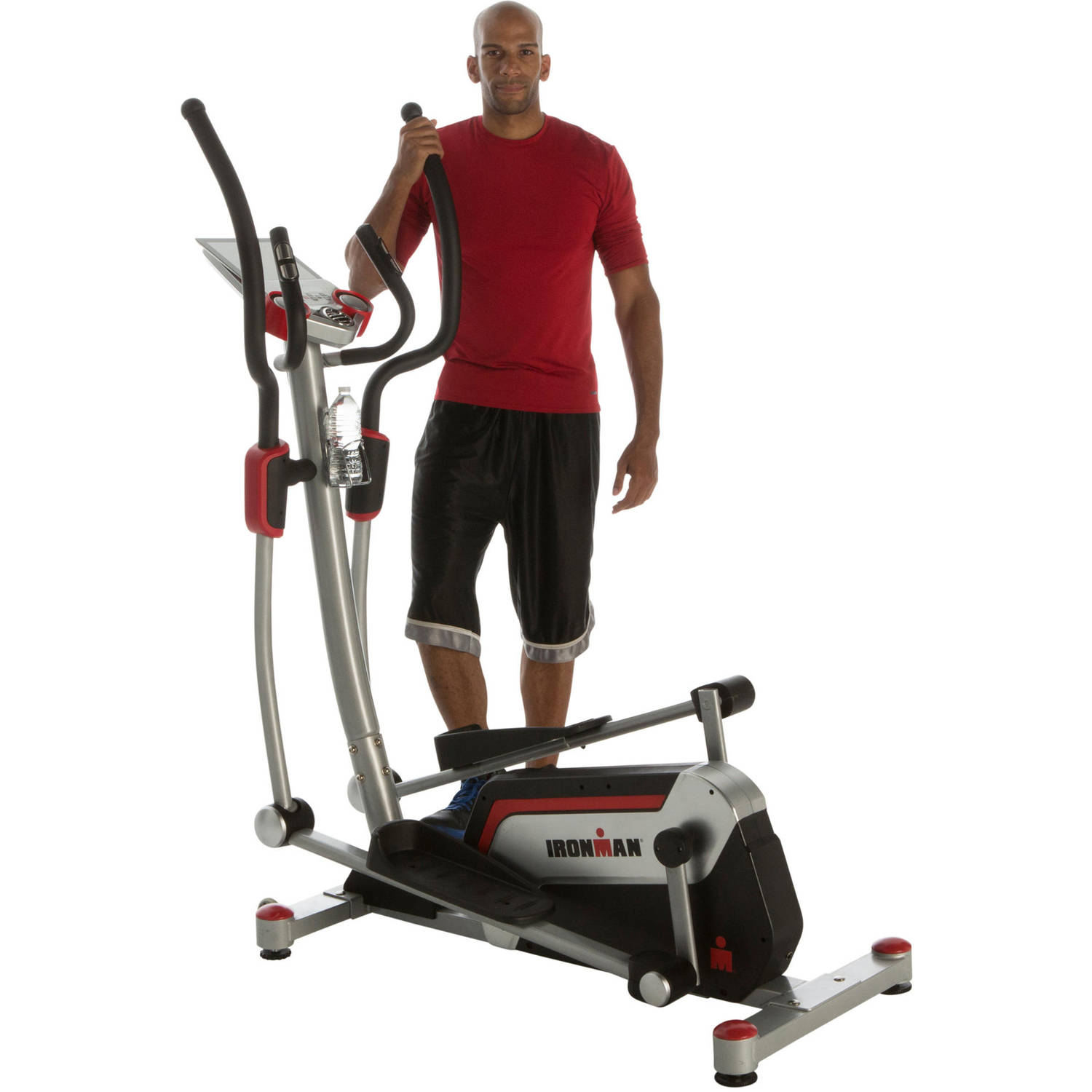 "Ironman H-Class 610 Smart Technology Elliptical Trainer with Bluetooth, 18"" Stride and Heart Rate Control"