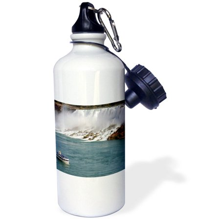3dRose Canada, Ontario, Niagara Falls. Maid of the Mist boat-CN08 LSE0001 - Lynn Seldon, Sports Water Bottle, (Stores In Niagara Falls Ontario)