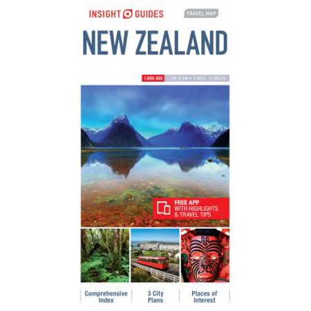 Travel Map New Zealand.Insight Travel Maps Insight Guides Travel Map Of New Zealand New Zealand Travel Guide Other