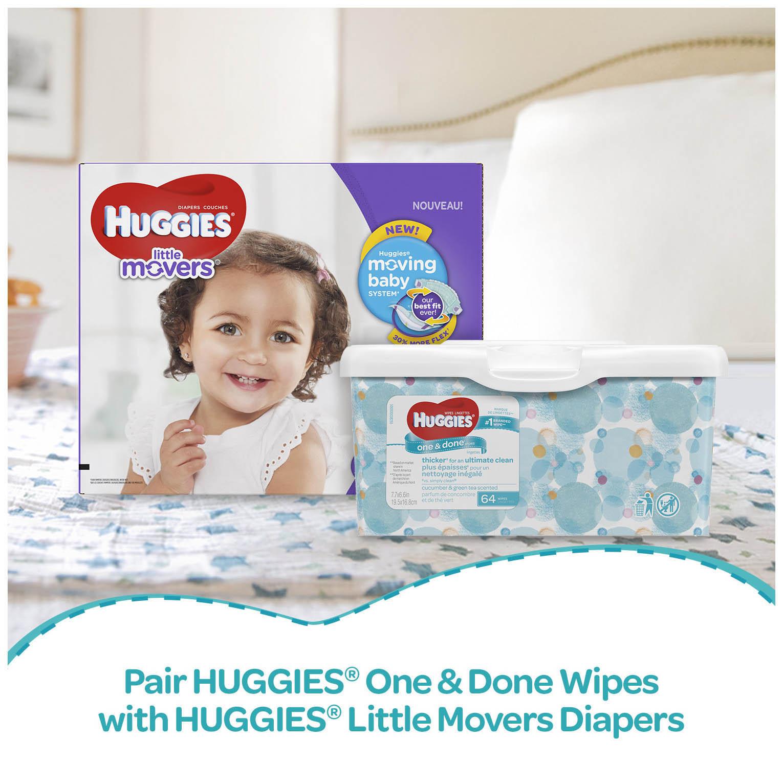 huggies one done refreshing baby wipes 648 sheets walmart com