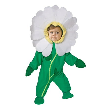 Living fiction baby flower 2pc toddler halloween costume, green M](Flower Costum)