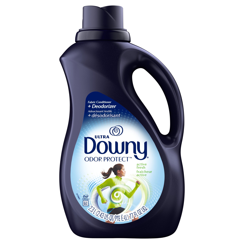 Downy Odor Protect Active Fresh Liquid Fabric Deodorizer and Fabric Conditioner, 90 fl oz