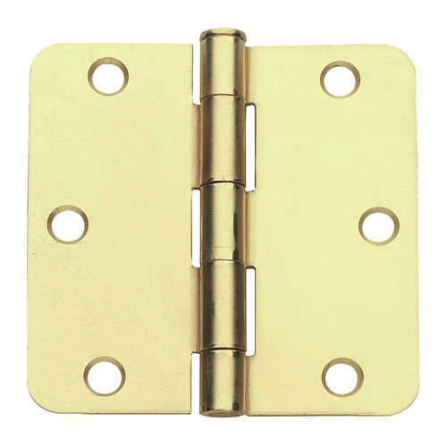 Global Door Controls 3'' H   3'' W Butt/Ball Bearing Pair Door Hinges (Set of 2)
