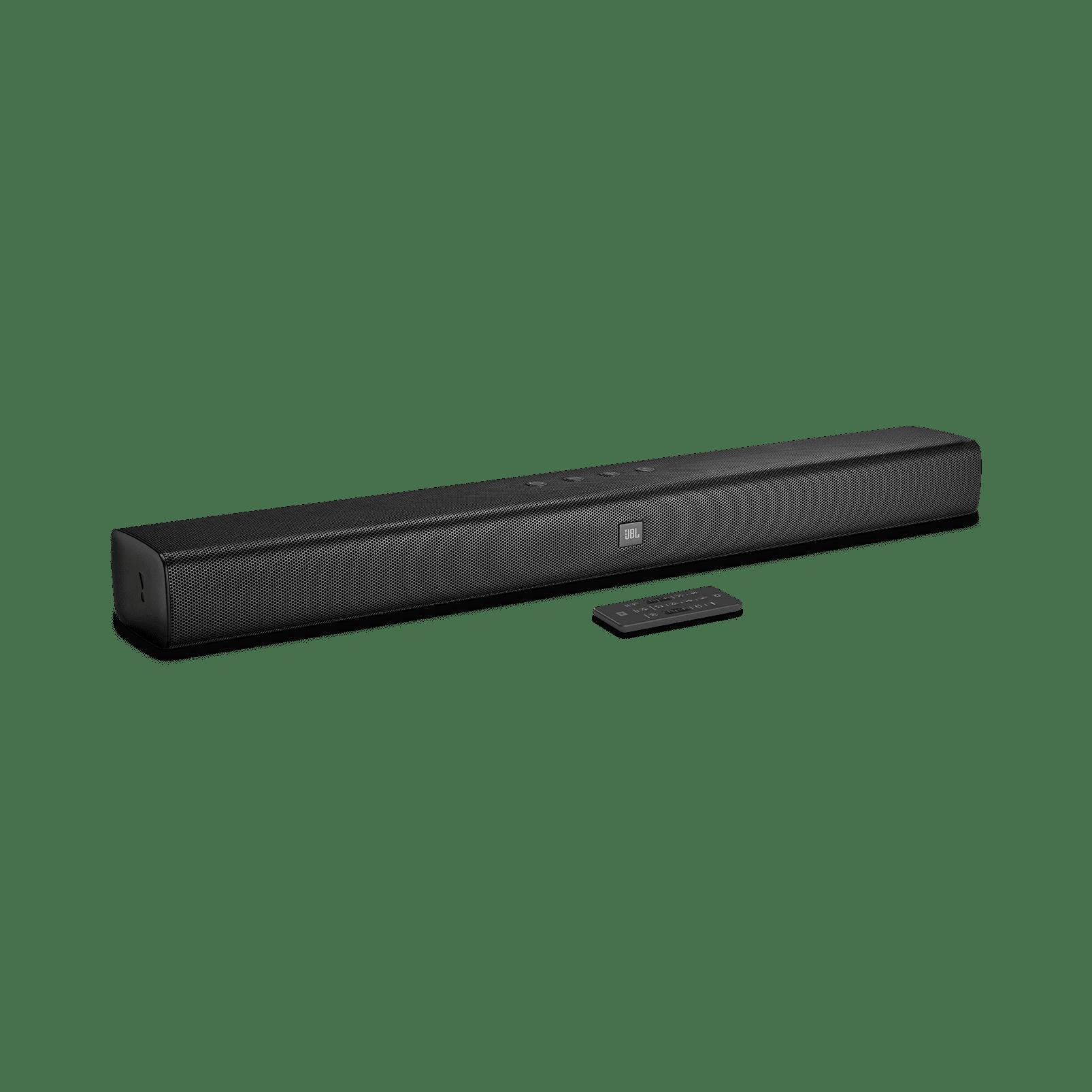 JBL 2.0 Channel Soundbar with Bluetooth (Black) by JBL