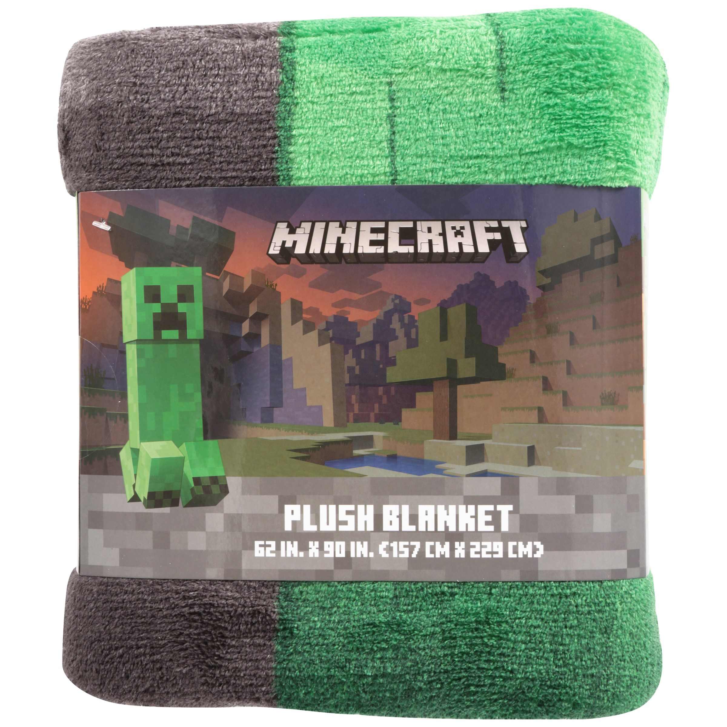 Minecraft 62 Quot X 90 Quot Plush Blanket 1 Each Ebay