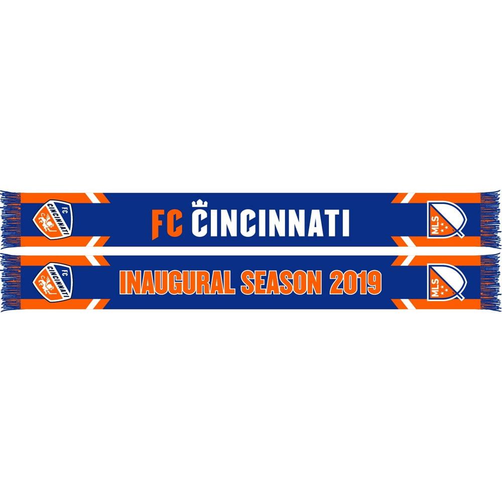 FC Cincinnati Inaugural Season HD Knit Scarf - Blue - No Size