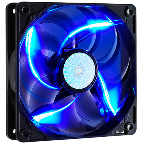 Cooler Master 120mm LED Fan, Blue