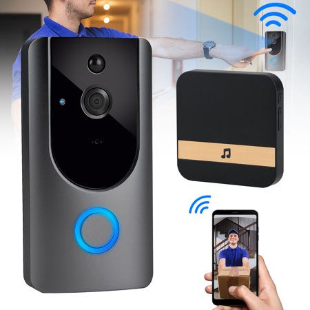 7af75dd8fda TSV Smart Video Doorbell Wireless Home WiFi Security Camera with Indoor  Chime