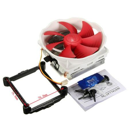 120MM Large Fan 4 Copper Heat pipes Radiator Heatsink CPU Cooler For Intel LGA775/1151/115X AMD AM2 AM3 FM2 FM1