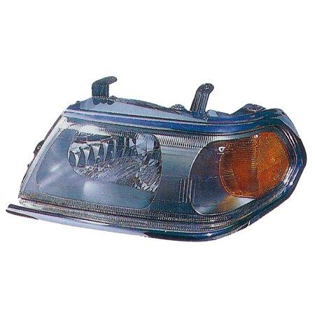 2000-2004 Mitsubishi Montero Sport Driver Left Chrome Headlight Lamp - Mitsubishi Montero Sport Headlight Door