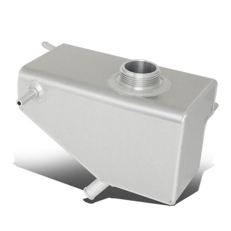For 2011 to 2014 Ford Mustang 3.7L V6 / 5.0L V8 Aluminum Radiator Coolant Expansion Overflow Tank Bottle ()
