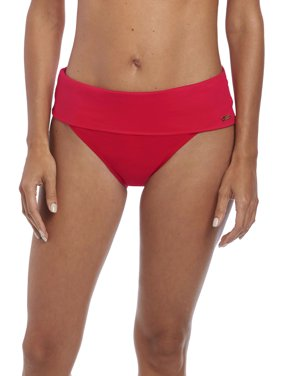 Fantasie Womens Marseille Classic Fold Swim Brief, L, Sunset