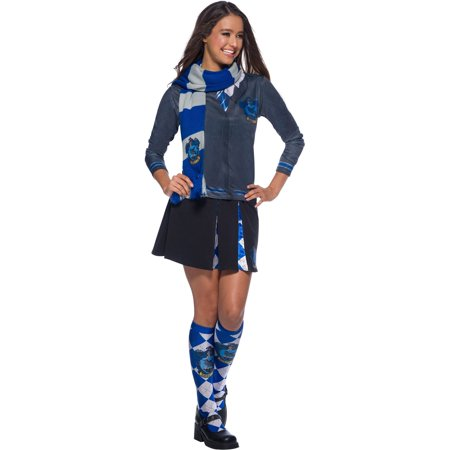 The Wizarding World Of Harry Potter Ravenclaw Deluxe Scarf Halloween Costume Accessory (Gru Costume Scarf)
