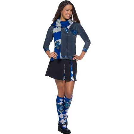 The Wizarding World Of Harry Potter Ravenclaw Deluxe Scarf Halloween Costume Accessory (Girl Harry Potter Costume)