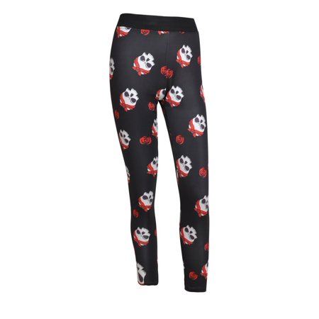 DYMADE Women's Skull Print Pant Workout Capri Leggings Stretch Tights Ankle Length - Halloween Leggings