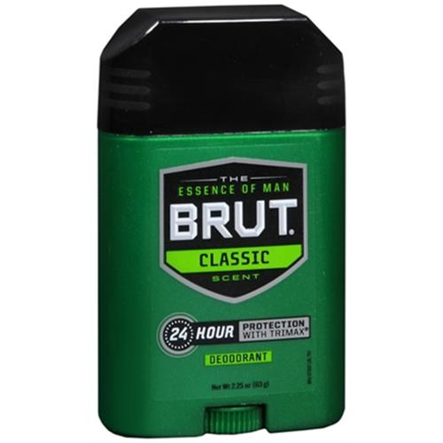 BRUT Deodorant Stick Classic Fragrance 2.25 oz (Pack of 4)