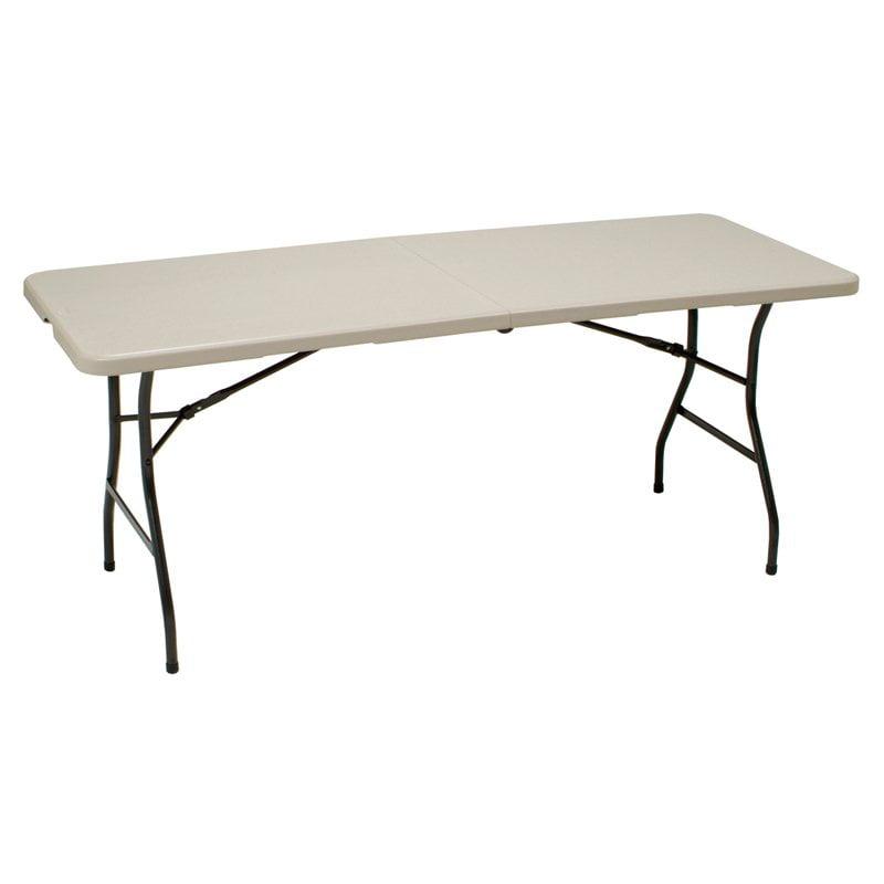 Utility 6' Centerfold Table  Walmartm. Business Card Holders For Desk. Steamer Trunk End Table. Stash Desk. 5 Piece Table Set. Exercise Desk Job. Dresser With Hidden Drawer. Menards Desk. Espresso Counter Height Table