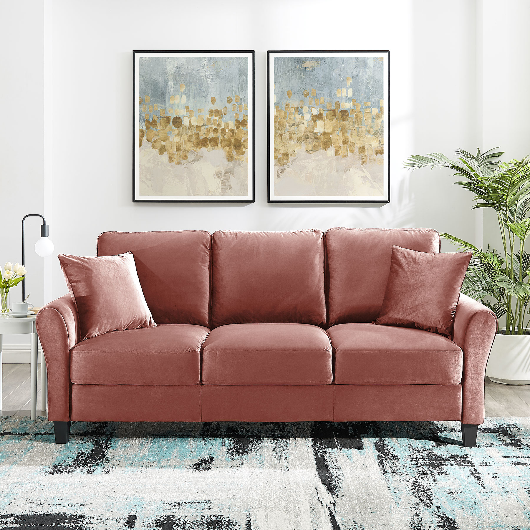 Tribesigns 20 seat Sofa Couch Modern Sofas for Home Living Room Apartment
