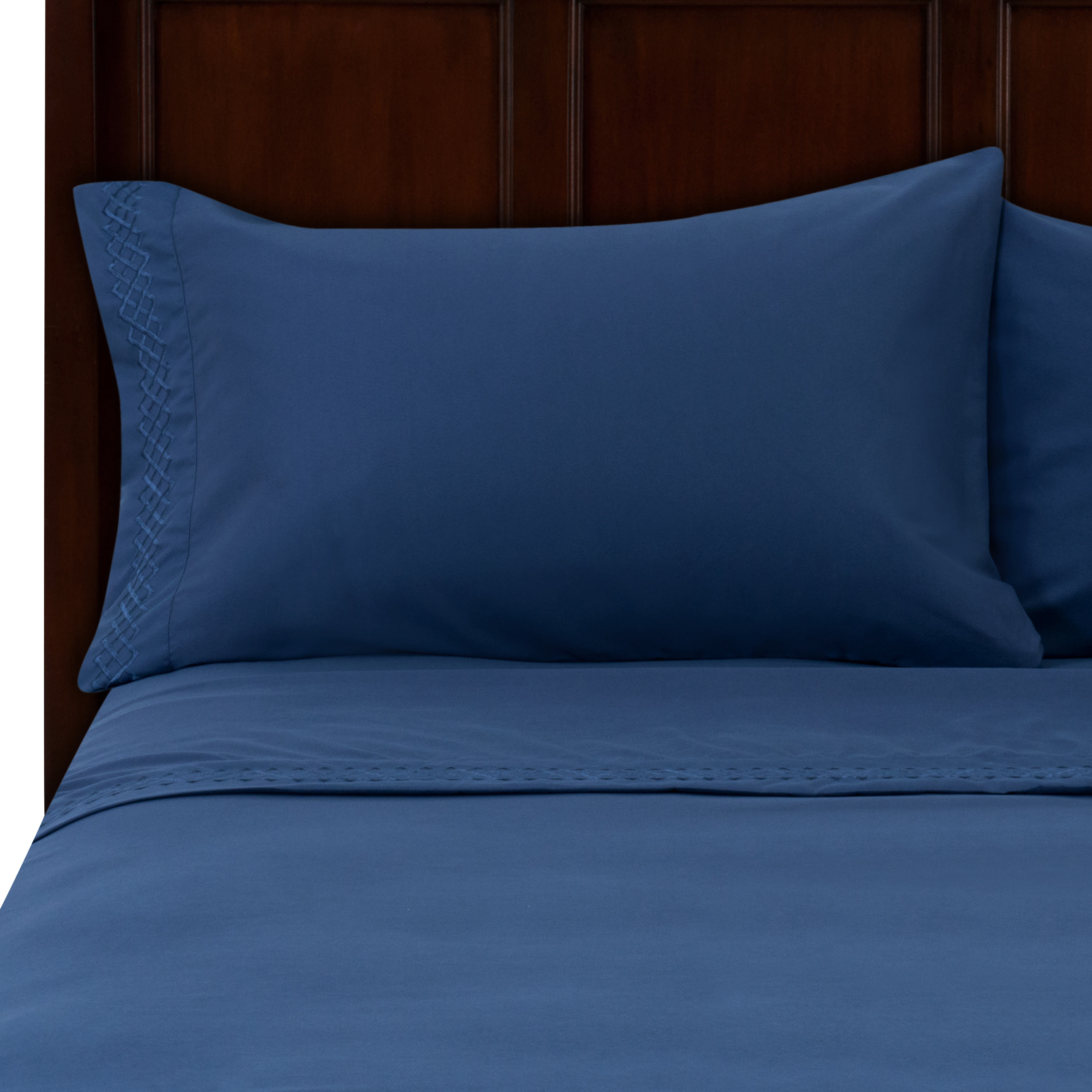 Better Homes and Gardens Luxury Embroidered Microfiber Sheet Set