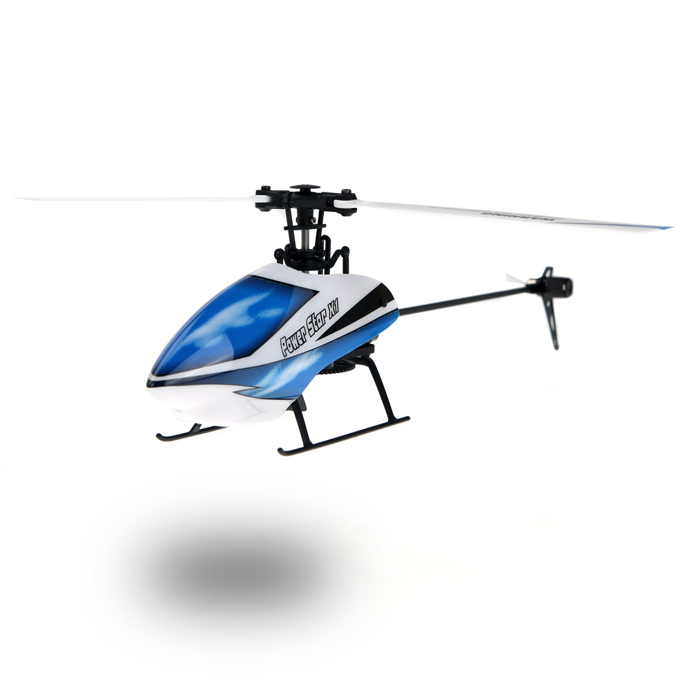 WLtoys V977 Power Star X1 6CH 2.4G Brushless 3D Flybarless RC Helicopter by
