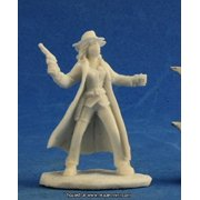 Reaper Miniatures REM91004 25mm Scale Texas Ranger Female, Bob Ridolfl - Savage Worlds & Bones