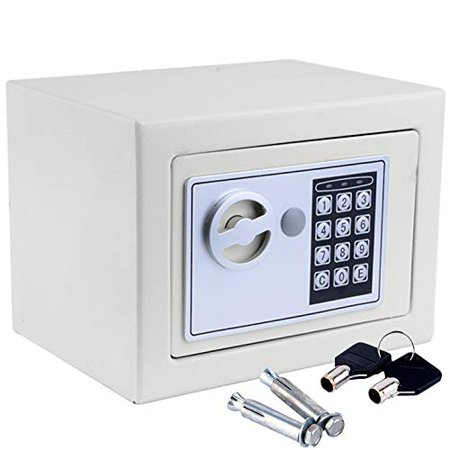 ZOKOP Electronic Safe Security Box Gun Money Home Hotel Office Wall Cabinet Best Price