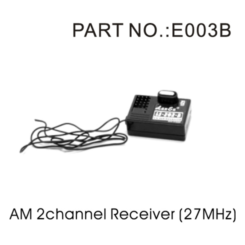 Redcat E003B AM 27MHz 2 Channel Receiver