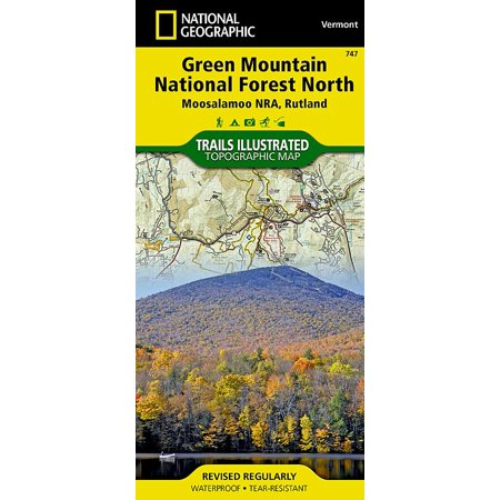 National Geographic Maps: Trails Illustrated: Green Mountain ... on