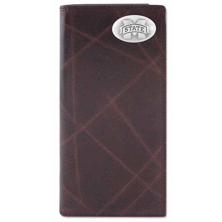 Mississippi State Bulldogs Wallet (Mississippi State Wrinkle Leather Secretary)