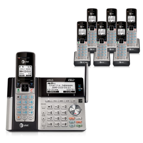 AT&T TL96273 plus TL90073 (5) 7 Handset Cordless Phone by AT&T