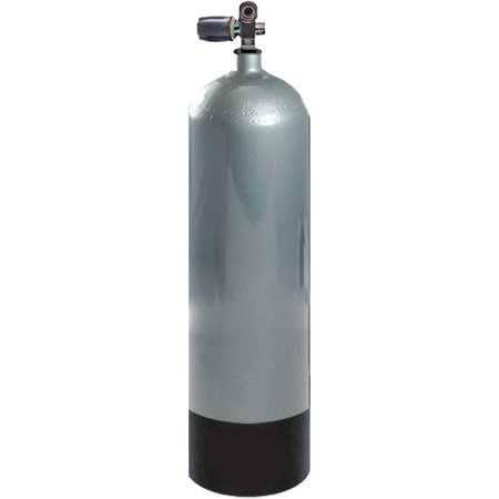 Faber Scuba Diving Steel Cylinder - 100 Cubic Feet (Scuba Cylinder Steel)