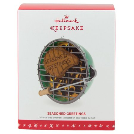 Hallmark Keepsake 2016 Seasoned Greetings Grilling Christmas Ornament