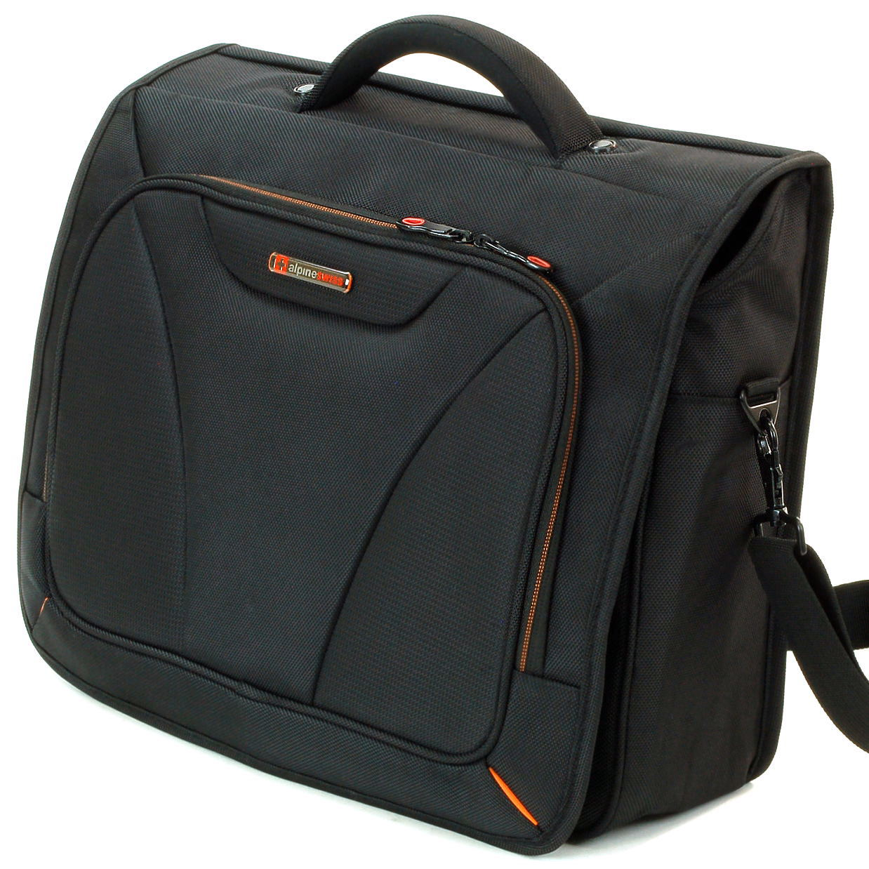 "Alpine Swiss 15.6"" Laptop Computer Case Messenger Bag Briefcase Tablet Sleeve NW"