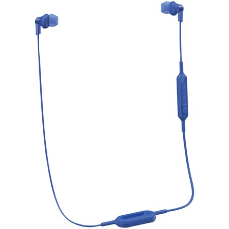 Panasonic RP-HJE120B-A Ergofit In-ear Earbud Headphones With Bluetooth (blue) ()