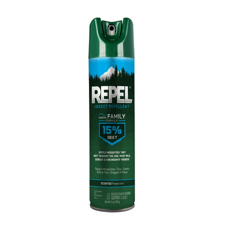 Repel Insect Repellent Scented Family Formula 15% DEET, 6.5-oz
