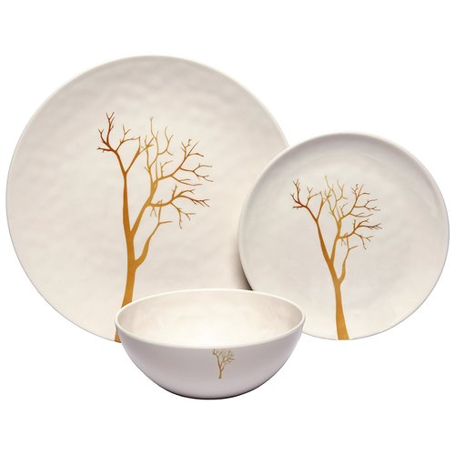 Darby Home Co Rohan Tree 36 Piece Dinnerware Set Service for 12 (Set of  sc 1 st  Walmart & Darby Home Co Rohan Tree 36 Piece Dinnerware Set Service for 12 ...